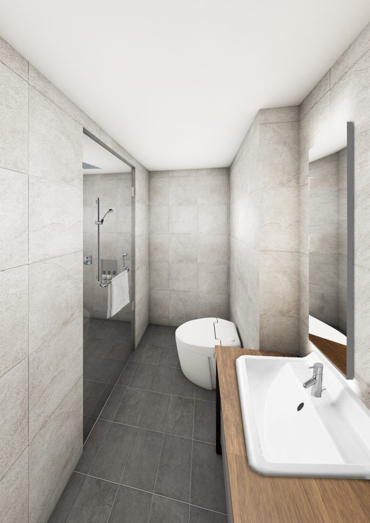 Twin/Comfort Double Bathroom